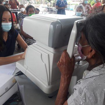 Realizan jornada oftalmológica en San Antonio del Monte