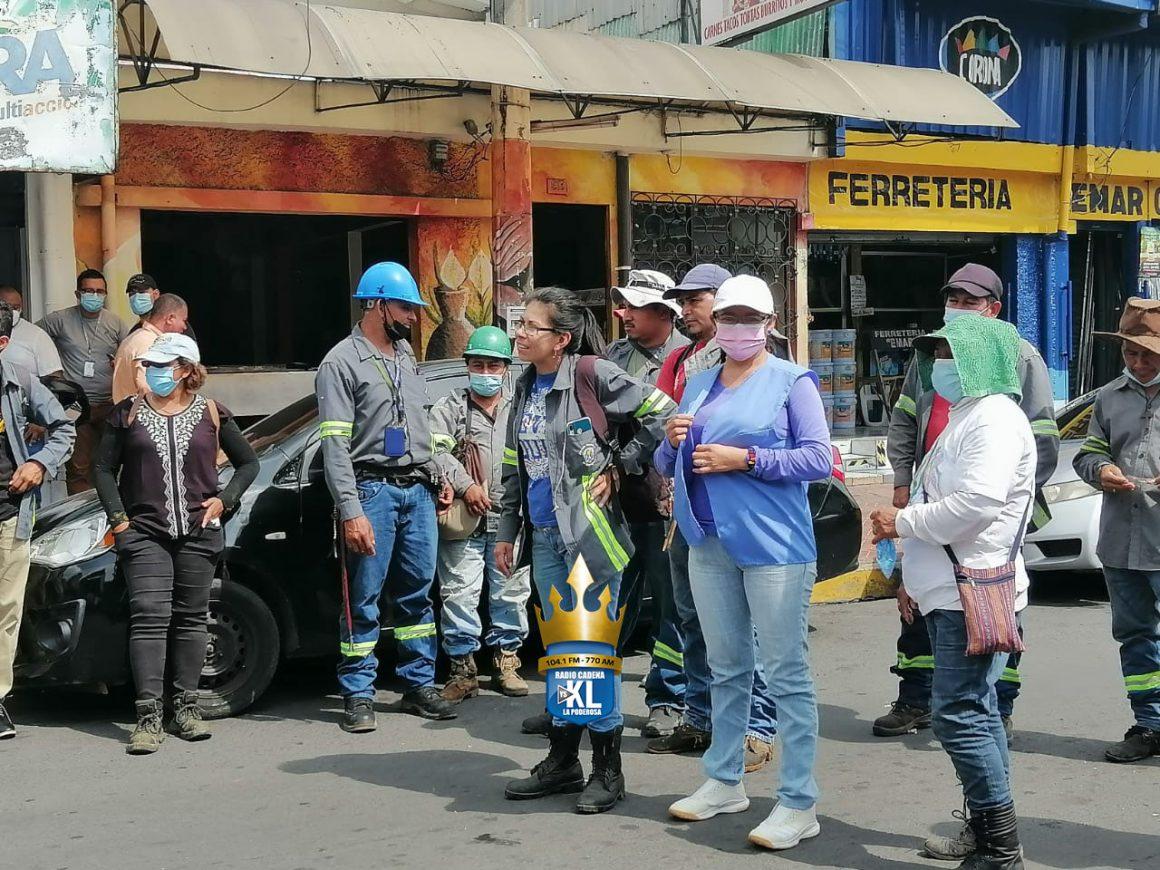 Empleados de la Alcaldía de Soyapango denuncian despidos arbitrarios