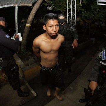 Detienen a líderes de la pandilla 18 en Sonsonate
