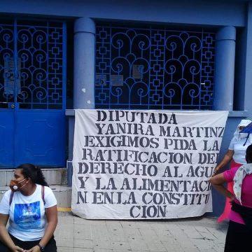 Comunidades exigen a Diputados cumplir sus demandas sociales