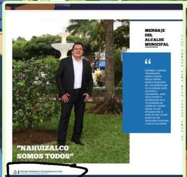Criticaron la inversión de la Alcaldía en el proyecto de mejoramiento del Parque de Nahuizalco y hoy se toman hasta fotos