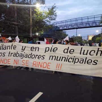 Sindicalistas cercanos al Ministro de Trabajo exigen cárcel para Ernesto Muyshondt
