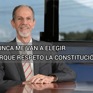 Abogado Francisco Díaz en la entrevista con diputados: nunca me van a elegir porque respeto la Constitución