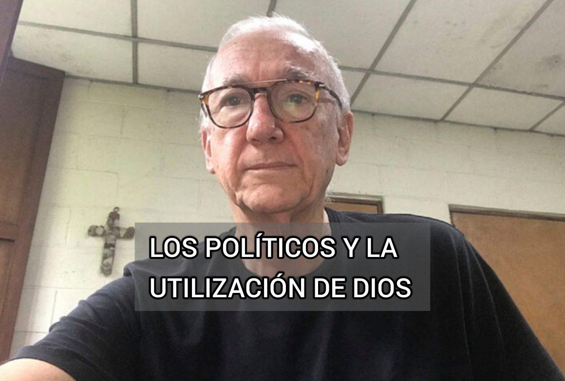 Padre Tojeira de la UCA: los políticos y la utilización de Dios