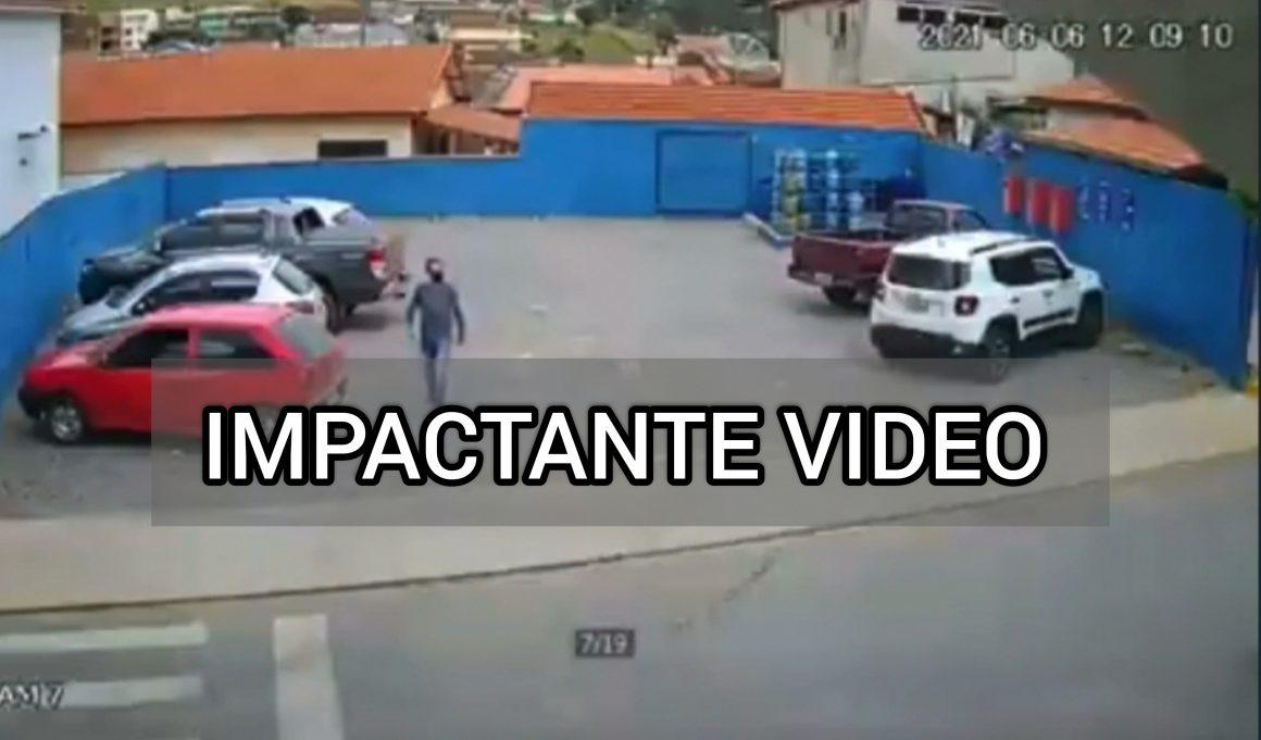 VIDEO: Hombre es atropellado, mira como sucedió
