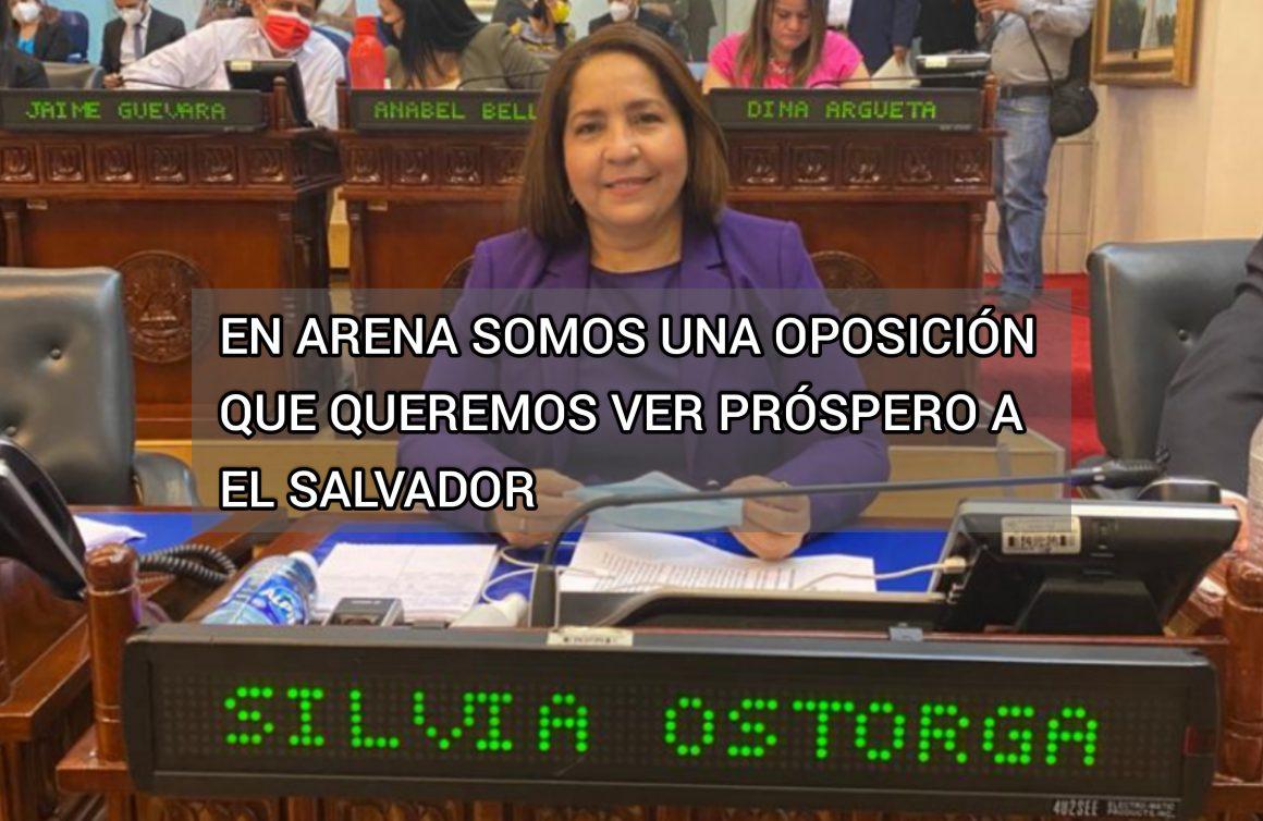 Silvia Ostorga: somos una oposición que ayuda a construir un mejor país para todos