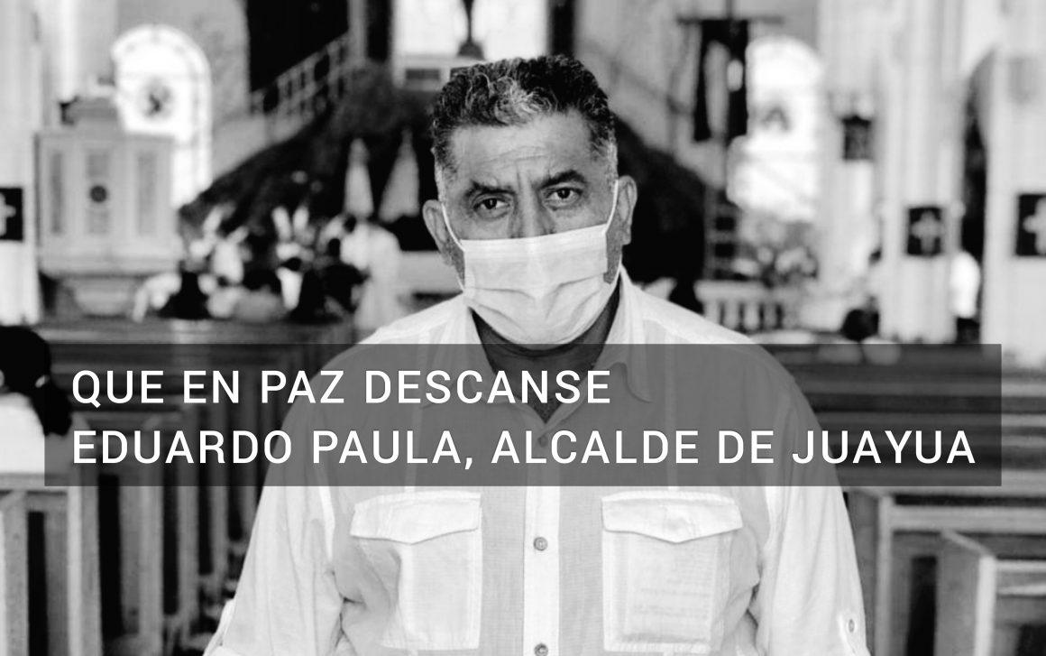 Muere el alcalde de Juayua, Eduardo Paula