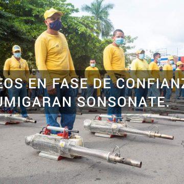 Arévalo lanza Plan Municipal de Fumigación en Sonsonate