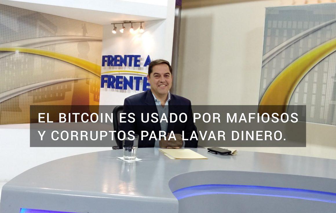 Luis Membreño: queda claro que el bitcoin es ocupado por gente mafiosa y corrupta