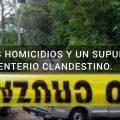 3 homicidios en las últimas horas y un supuesto Cementerio clandestino en Sonsonate