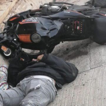 Motociclista falleció en Carretera al Puerto de la Libertad