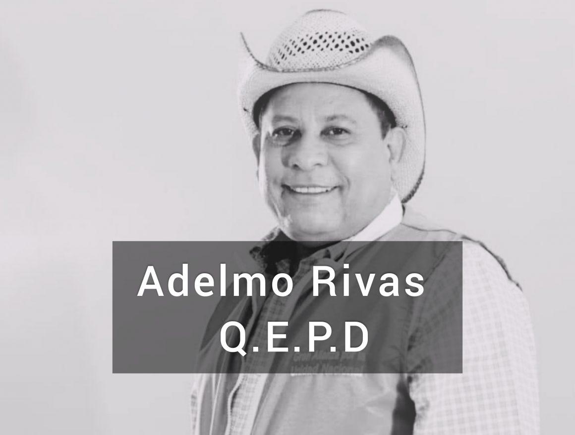 Guillermo Gallegos confirmó la muerte del diputado Sonsonateco Adelmo Rivas