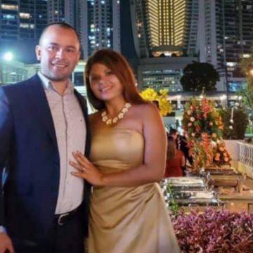"""""""Mostrando el amor hacia mi esposo"""" escribió hace exactamente un año Flor García en facebook"""
