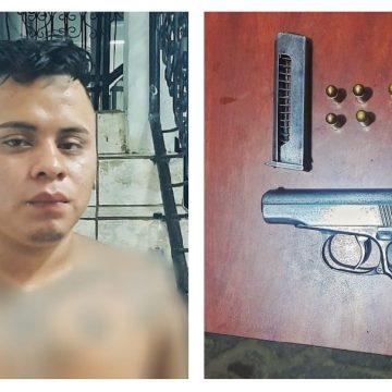 """Capturan al """"Plancha"""" de la 18 en Izalco"""