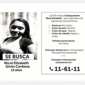 SE BUSCA: Niña de 13 años fue vista por última vez en la Sensunapan