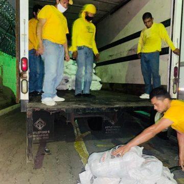 Gobierno prepara nueva entrega de paquetes de alimentos para la próxima semana