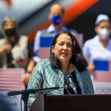 3 millones de vacunas contra el COVID19 ha donado Estados Unidos a El Salvador