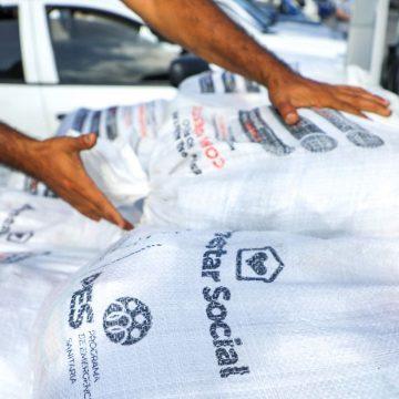 Gobierno retoma distribución de paquetes alimentarios