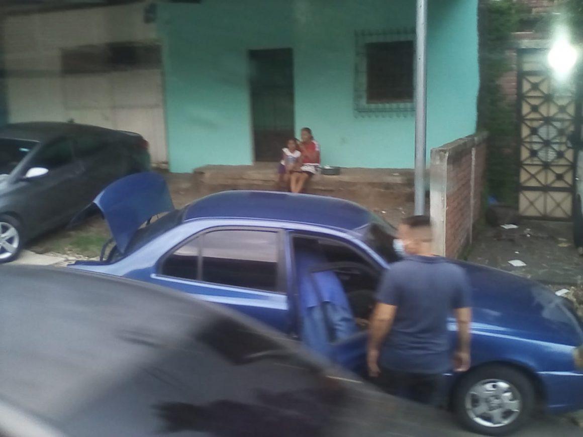 4 carros involucrados en accidente de tránsito cerca del cementerio de Sonsonate