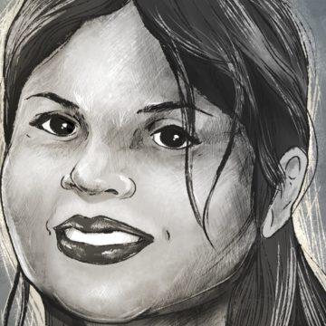 Caricatura de la Prensa Gráfica en honor a Flor