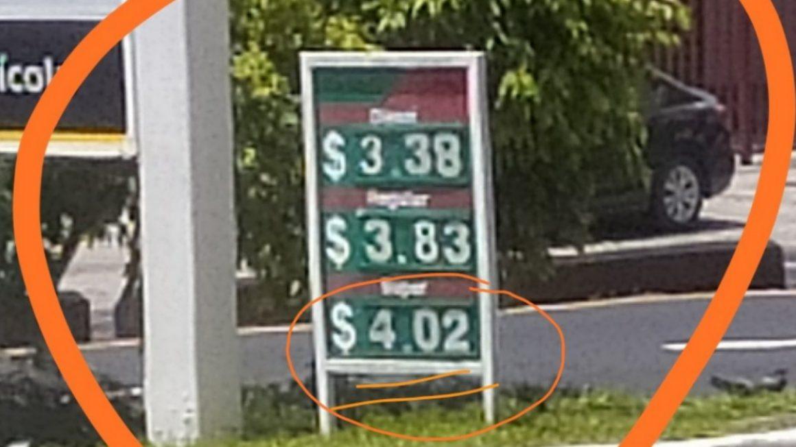 El Salvador amaneció con $4.02 el galón de combustible