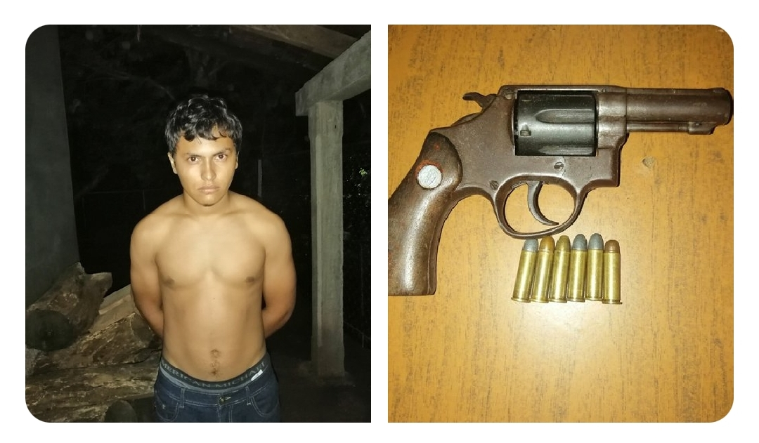 Los capturan por portación ilegal de arma de fuego