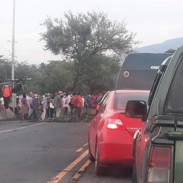 Caos vial en diversas zonas del país por protestas