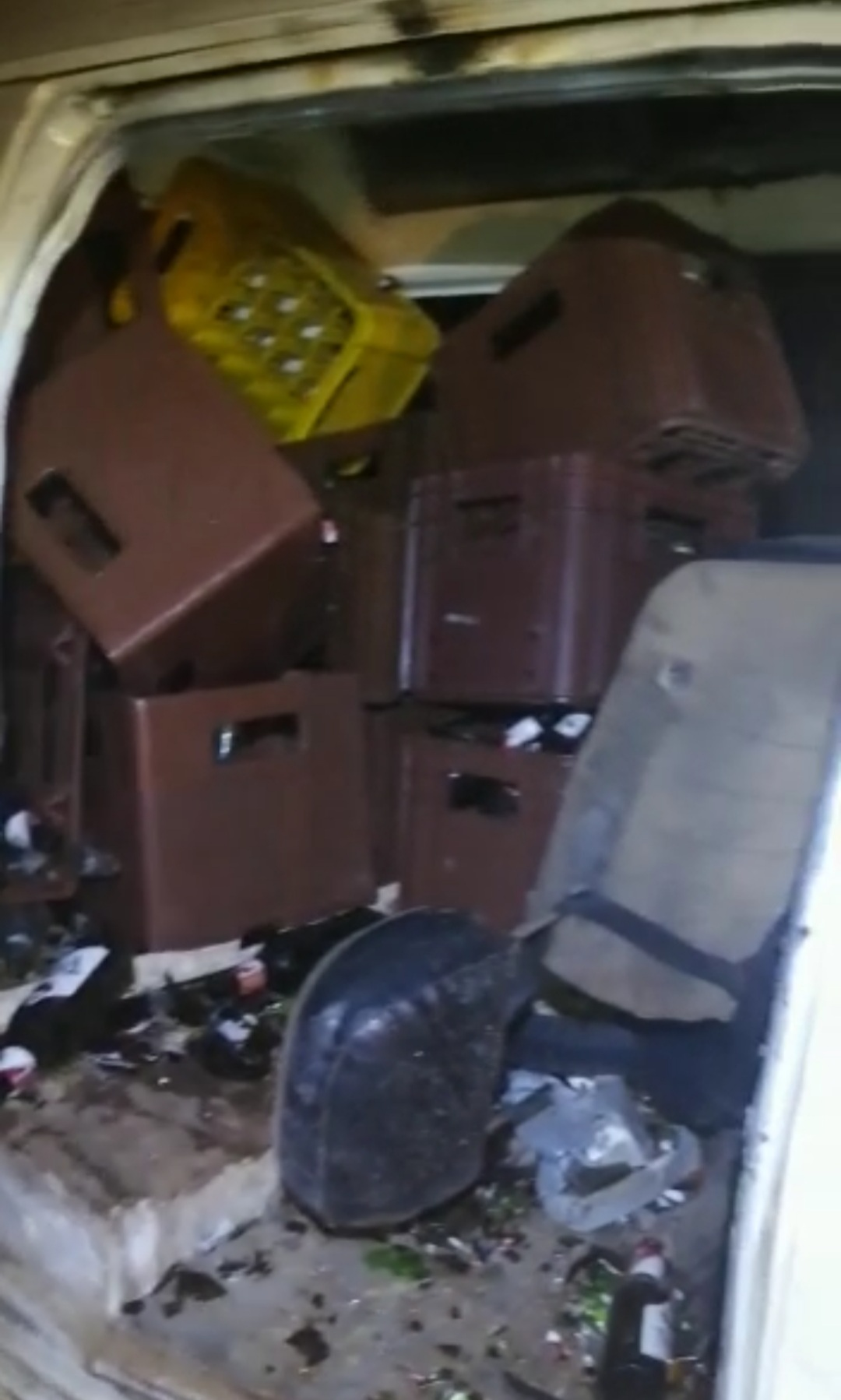 VIDEO: Un fallecido en accidente está madrugada