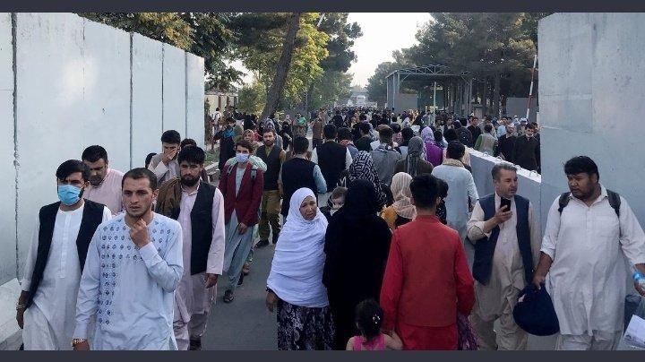 Pánico y caos en Afganistán.