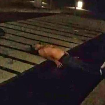 Murió el joven ebrio que protagonizó un show en San Salvador