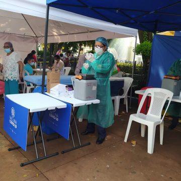 Parque Rafael Campos será centro de vacunación por varios días
