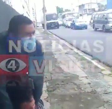 Amarran a ladrón en San Salvador